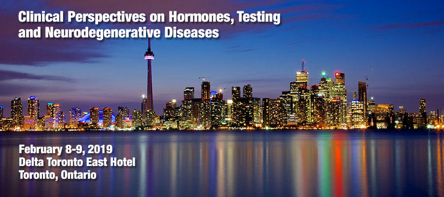 2019 Toronto Regional Conference - Restorative Medicine